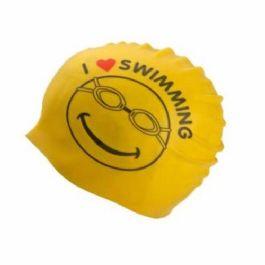 כובע לשחיה I LOVE Swimming