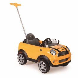 מכונית בימבה מיני קופר כולל מוט לדחיפת הילד