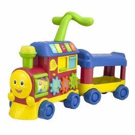 בימבה לימודית בצורת רכבת מבית WIN FUN
