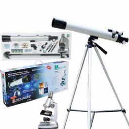 סט מיקרוסקופ (X900) וטלסקופ (X50-100) מבית CITYSPORT