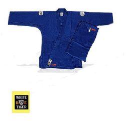 חליפת ג'ודו כחולה איכותית WHITE TIGER