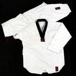 חליפת טאקוונדו ללא ריקמה, עשויה כותנה